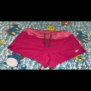 Womens nike dri-fit training shorts XL